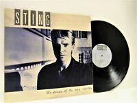 STING the dream of the blue turtles LP EX-/EX- DREAM 1, vinyl, with lyric inner,