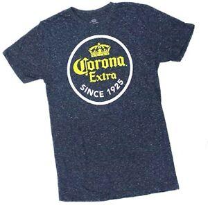 Corona Extra Logo Since 1925 Cerveza Beer Alcohol T Shirt Extra Soft New