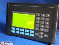 Allen Bradley 2711-K5A12 Ser F Rev K FRN 4.10 Panelview 550 // NO PROFIBUS CARD