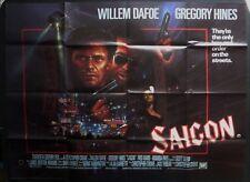 SAIGON OFF LIMITS ORIGINAL 1988 QUAD POSTER WILLEM DAFOE GREGORY HINES BYSOUTH