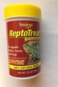 Tetra Fauna ReptoTreat Gammarus Whole Shrimp Treat for Reptiles 0.35 oz Treats