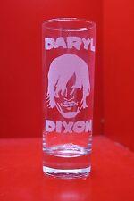 Laser Engraved Highball Glass Walking Dead Daryl Dixon