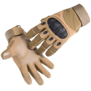 Men Tactical Cycling Gloves Motorcycle Gloves Army Military  Sports Outdoor *W