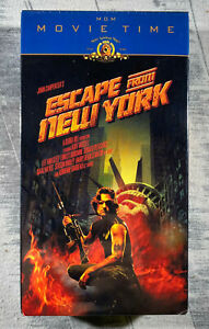 NEW SEALED John Carpenter's Escape from New York (VHS, 2000) Kurt Russell