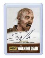 The Walking Dead Season 4 Part 1 Greg Nicotero Executive Producer Autograph GN3
