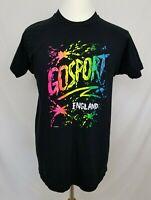 VTG 1992 Screen Stars Mens XL Gosport England T-Shirt Single Stitch Tee 90s EUC