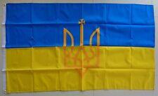 Ukraine Flag Ukrainian Coat Of Arms Tryzub Ukraine Trident Flag