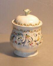 NEW Covered Sugar Bowl , Toscana Pattern GIEN