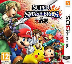 Super Smash Bros Nintendo 3DS Video Game Fast Delivery!