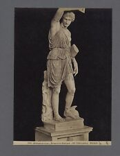Sculpture gréco-romaine Amazone Grèce Italie 2 Photos Vintage albumine ca 1880