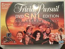 NEW Trivial Pursuit SNL DVD Edition Board Game 2004 Parker Brothers **Sealed**