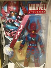 """2010 SDCC Marvel Universe 19"""" Galactus  Action Figure In Box and on card."""
