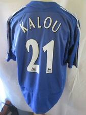 Chelsea 2006-2008 Home Football Shirt XXL Kalou 21 /34441