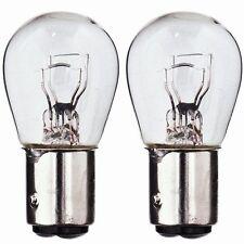 Lot de deux ampoules pour feux de remorque 12V 21,5W double fil eclairage