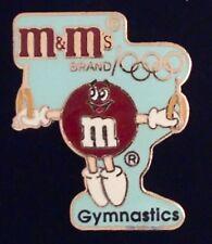 Gymnastics Olympic Pin Badge ~ Rings ~ Barcelona ~ 1992 ~ Sponsor: M&M Mars