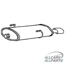 Peugeot 206 i GTi 16v Hatchback 2.0 03-08 Rear Klarius Exhaust Box + Fitting Kit