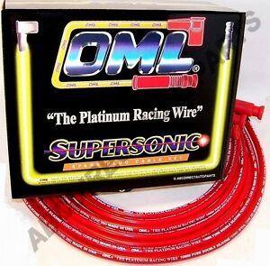 Spider 124 128 131 R17 High Performance 10 mm Red Spark Plug Wire Set 39860R