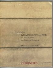 Christies Catalog Paris Une Americaine A Paris October 11 2006 RARE