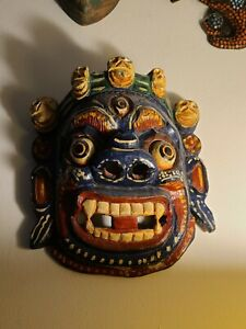 Tibetan Painted Mask