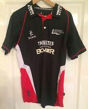 Lancashire Lightning Cricket Jersey Shirt Kukri Thwaites Lancaster Bomber Large