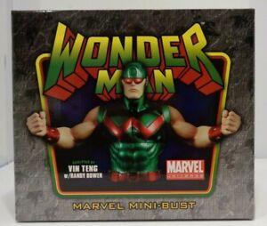 Bowen Designs WONDER MAN  Original Version Mini Bust 2009 Marvel #155/1000