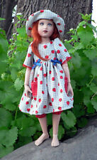 "Pattern lot 14"" Helen Kish dolls, 8 Doll Clothes Sewing Patterns Uncut Morrissey"