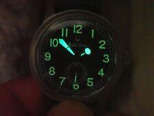 Bulova Re issue 96a102 Military Commemorative Hack Watch 2 Straps Mint Con 2013