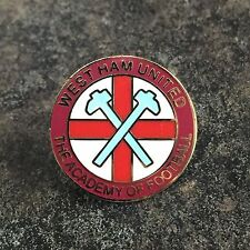 West Ham United smalto pin badge | l'Accademia di calcio | Whufc utpon Park