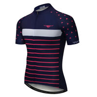 Men's Cycling Jersey Clothing Bicycle Sportswear Short Sleeve Bike Shirt Top Y27