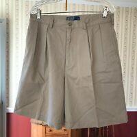 NEW Polo Ralph Lauren the Tyler Short men's size 34 beige shorts