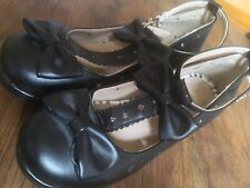 Black Lolita/cosplay Mary Jane platform shoes size 5 (38) Ankle strap with a bow