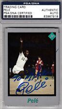 Pele PSA DNA SIGNED 1991 TUFF STUFF Soccer Legend RARE CARD AUTOGRAPHED
