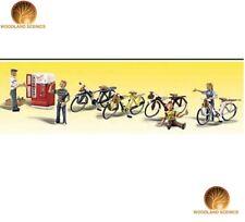 Woodland Scenics Bicycle Buddies Echelle O Figurines (A2752)