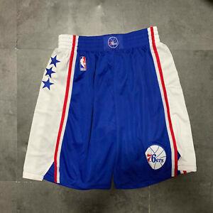 Philadelphia 76ers Hot sale Blue Basketball Shorts Size:S-XXL