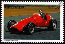FERRARI TIPO 625 GP Racing Car Stamp