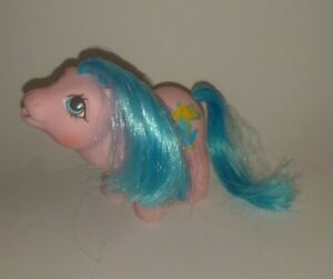 Vintage G1 My Little Pony Baby Rainfeather Drink n' Wet ~ MINT
