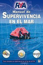 Manual de supervivencia en mar. NUEVO. Nacional URGENTE/Internac. económico. DEP