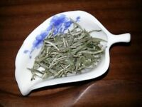 50G Premium Chinese Organic Bai Hao Yin Zhen Silver Needle White Loose Leaf Tea