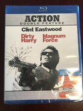 DIRTY HARRY/MAGNUM FORCE Double Feature (Blu-Ray, 2010) - Clint Eastwood