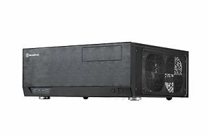 SilverStone GD09B Technology Grandia Series Aluminum HTPC Computer Case