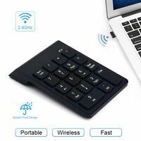 Portable USB Bluetooth Numeric Keypad Keyboard Numpad Number Num Pad 18 Keys NEW