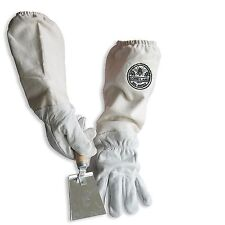 Cotton Amp Sheepskin Beekeeping Medium Gloves With Honey Comb Shovel Gl Glv Shvl Med