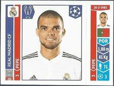 PANINI UEFA CHAMPIONS LEAGUE 2014-15- #112-REAL MADRID-PEPE