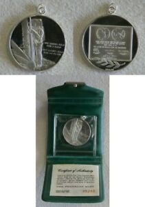 APOLLO 14 SILVER MEDAL FIRST STEP ON THE MOON