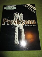 ELVIS PRESLEY PRESLEYANA Price Guide 1st Edition Softcover 292 pgs 301A