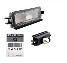 RENAULT CLIO II (1998-200) Lampe d'éclairage de plaque ORIGINAL 7700433414 NEUF!