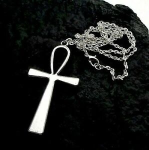 Silver Ankh Cross Necklace ~ UK Buyers ~ FREE Post ~ ONLY £3.95