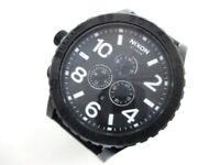 Auth NIXON SIMPLIFY 51-30 Black 13F1 Men's Wrist Watch