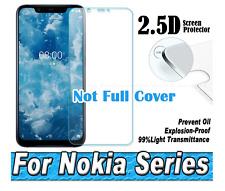 For Nokia 8 8.1 Nokia 7 7Plus Nokia 6.1.5.1950 2.5D Screen Protector.