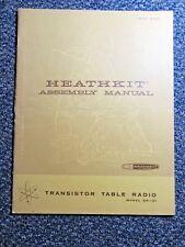 Heathkit Manual: Transistor Table Radio Model Gr-131